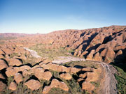 The Bungle Bungles range in Western Australia. Photo by Tourism Western Australia