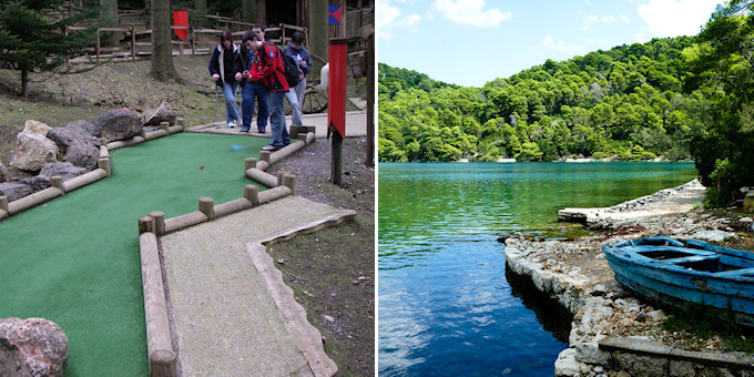 Center Parcs vs. beautiful Croatia