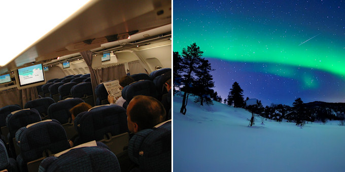 Flying visit vs. magical Finland