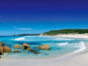 Dolphin Bay, Esperance, Western Australia. Photo from Tourism Western Australia