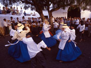 Traditional dancing, Lanzarote. Photo by Lanzarote Tourist Board