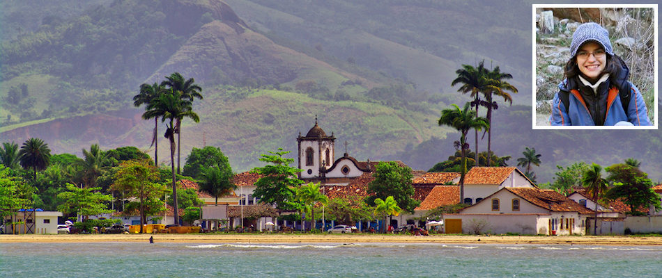 Paraty and (inset) Yamila Barba