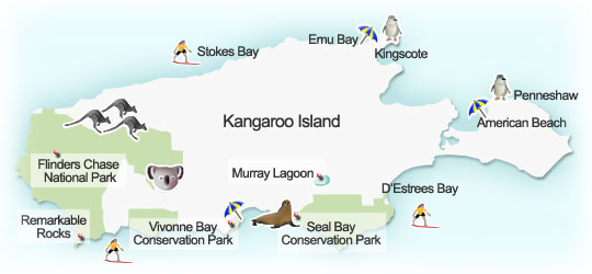 Kangaroo Island Australia Map on streaky bay australia map, auckland australia map, perth australia map, bass strait australia map, wineglass bay australia map, devil's marbles australia map, blackwood australia map, torres strait australia map, the great barrier reef australia map, lake eyre basin australia map, ningaloo coast australia map, dandenong ranges australia map, kuri bay australia map, merimbula australia map, byron bay australia map, hahndorf australia map, kapunda australia map, christchurch australia map, tennant creek australia map, australian alps australia map,
