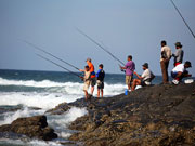 Fishing, KwaZulu-Natal. Photo By Durban Tourism