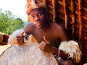 Young Zulu man, KwaZulu-Natal. Photo By Durban Tourism