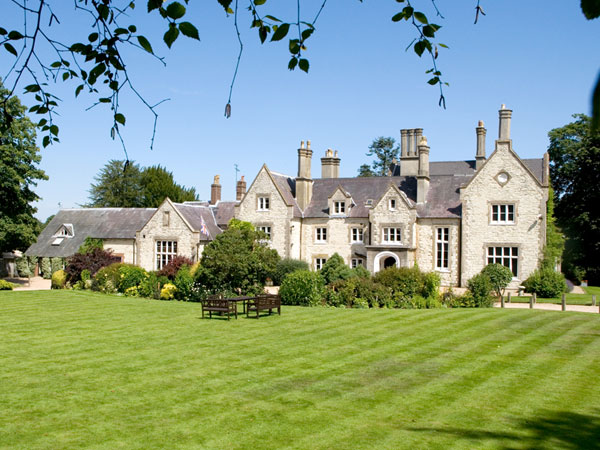 Country Manor hotel near Petersfield, England