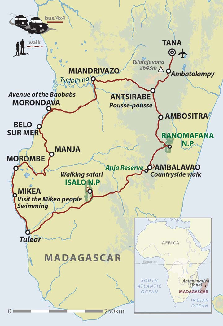 Madagascar adventure holiday off road explorer helping dreamers do map publicscrutiny Choice Image