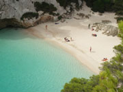 Turquoise waters, Menorca. Photo from Audax Hotel