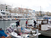 Fishermen in Ciutadella, Menorca. Photo by Nick Haslam