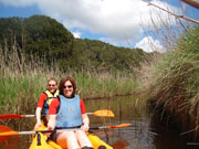 River kayaking in Menorca. Photo from Audax Hotel