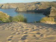 Sand dune beach, Menorca. Photo from Audax Hotel