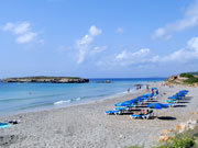 Beach at Son Bou, Menorca. Photo by Menorca Tourist Board