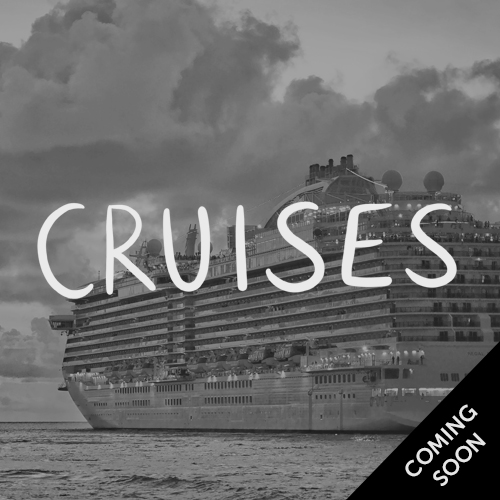 Cruises, coming soon