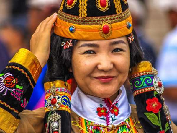 Nadaam Festival holiday in Mongolia