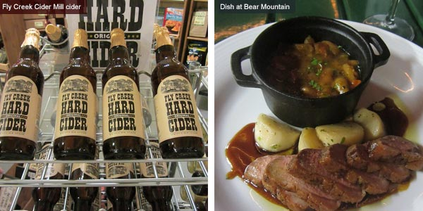 Fly Creek Cider Mill and dinner at Bear Mountain, New York State. Images by Catherine Mack