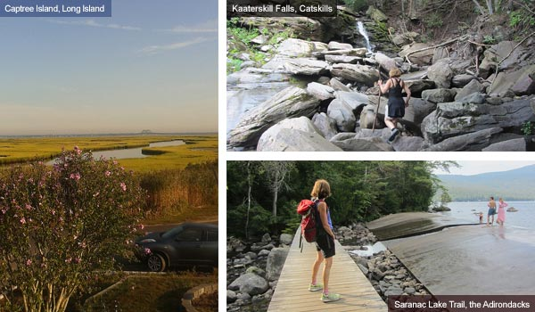 Long Island, Catskills and the Adirondacks, New York State. Photos by Catherine Mack