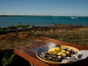 Oysters in Broome in Western Australia. Photo by Nick Haslam