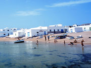 Beach at Pueblo, La Graciosa, Lanzarote. Photo by Lanzarote Tourist Board