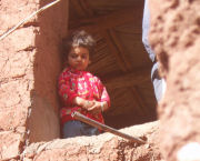 Berber girl on Morocco holiday
