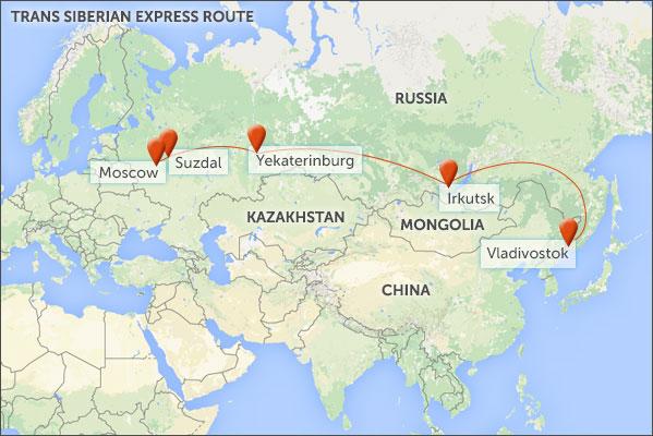The Trans Siberian Mongolian Express Helping Dreamers Do