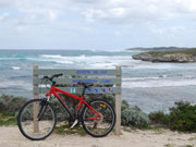 Rottnest Island Cycling in Western Australia. Photo by Richard Madden