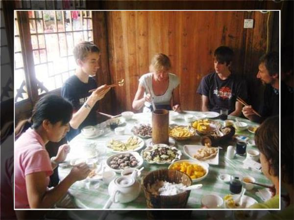 Family holiday in China