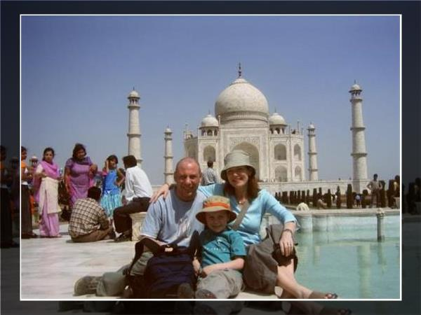Family holiday to India, sightseeing and safari