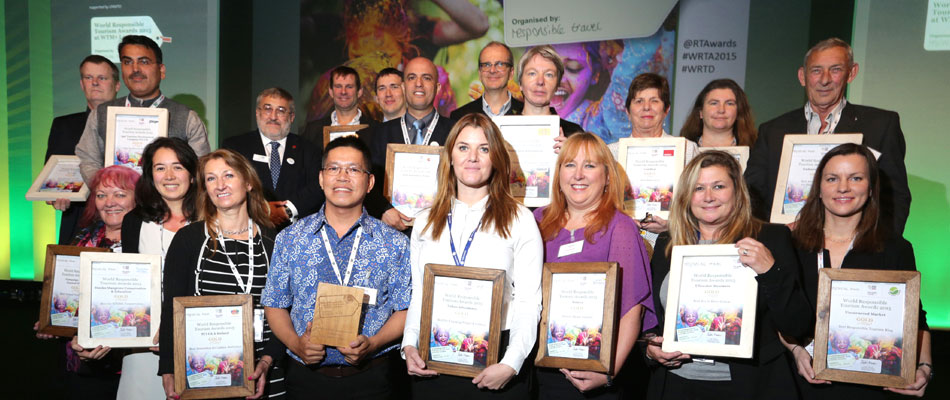 World Responsible Tourism Award winners 2015
