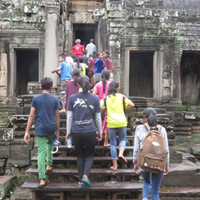 Group at Angkor Wat
