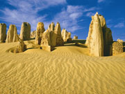 The Pinnacles, Western Australia. Photo by Tourism Western Australia