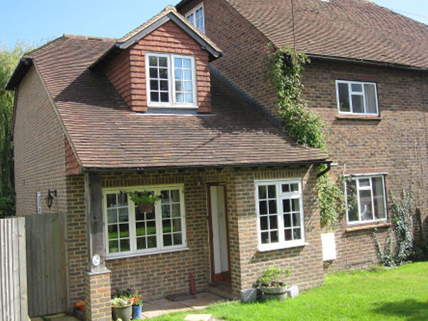 Ditchling bed and breakfast, South Downs Way, England