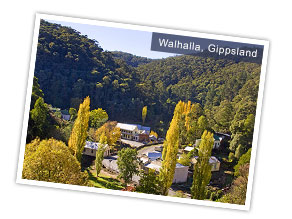 Walhalla, Gippsland, Victoria. Photo by Victoria Tourist Board