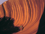 Wave Rock, Western Australia. Photo from Tourism Western Australia
