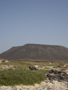 Volcano on Isla de los Lobos, Fuerteventura. Photo by Nick Haslam