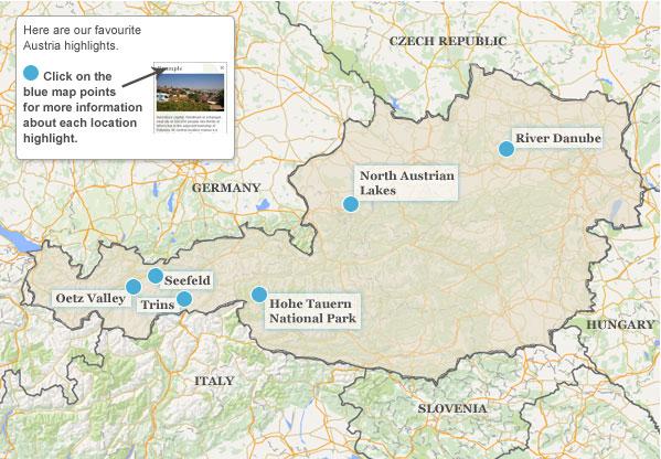 Austria travel guide Responsible travel guide to Austria – Austria Travel Map