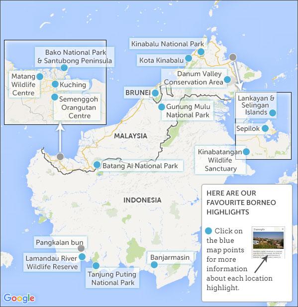 Borneo highlights. Res...
