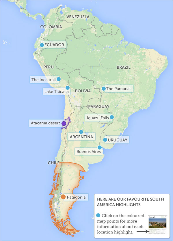 Places To Visit On A South America Overland Holiday South