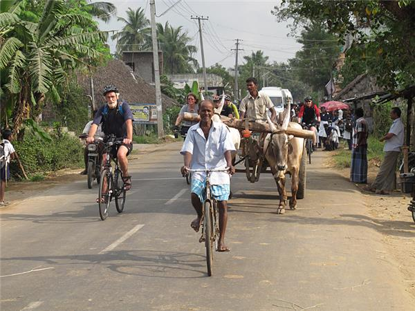 Chennai to Kochin cycling holiday across India