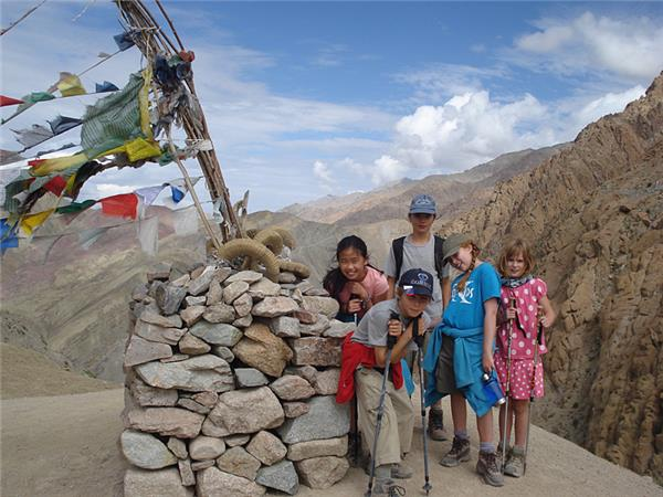 Himalaya family adventure holiday in Ladakh