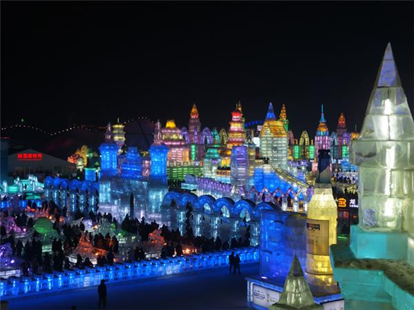 Harbin Ice and Snow Festival in China