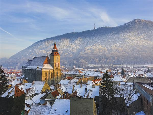 Transylvania winter holiday in Romania