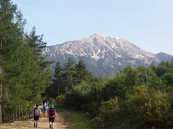 Lycian Way walking tour in Turkey