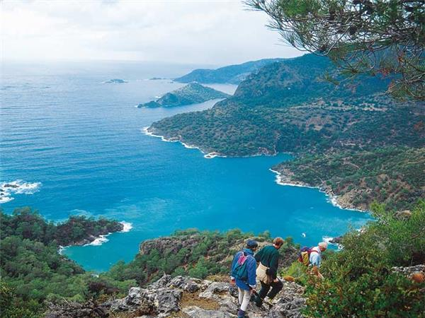 Walking the Turquoise coast holiday in Turkey