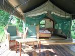 Wilderness safari camp in Malawi