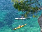 Sea kayaking in Croatia
