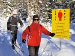 Ski touring holiday in Finland, Russian border