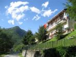 Pinasca accommodation, Piedmont, Italy
