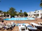 Puerto del Carmen beach resort in Lanzarote