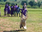 Gap year community volunteering project in Uganda