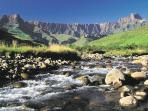 South Africa cycling holiday, Drakensburg and Kruger